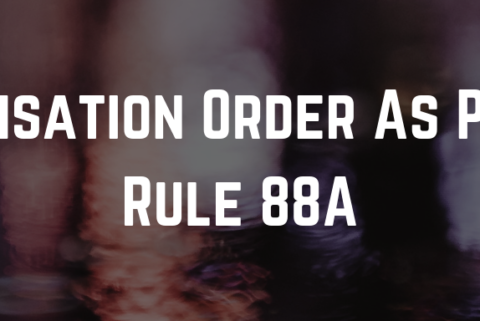 ITC Utilisation Order As Per New Rule 88A